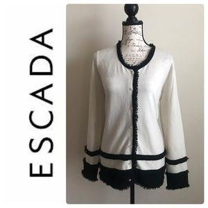 ESCADA Cashmere Cardigan Sweater